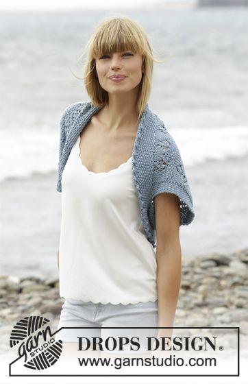 Mespelotes Com Beach Bolero Modele Gratuit Tricot Ou Crochet Pour Les Amoureux De Laines Sur Mespelotes Com
