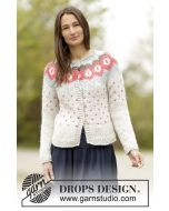 Winter Poppies Cardigan