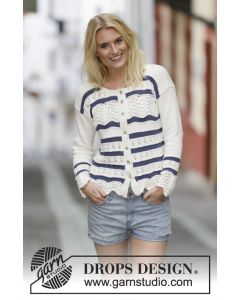 Nautical Waves Cardigan