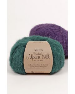 DROPS Brushed Alpaca Silk x 10